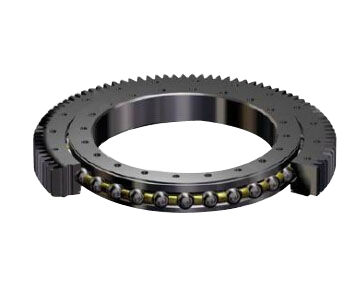 Single-row Four Point Contact Ball Slewing Bearing (Internal gear type)